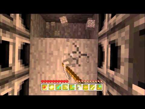 Minecraft Xbox 360 1.8.2 #37 - Making The Furnace Room (Lava Bucket Fun)