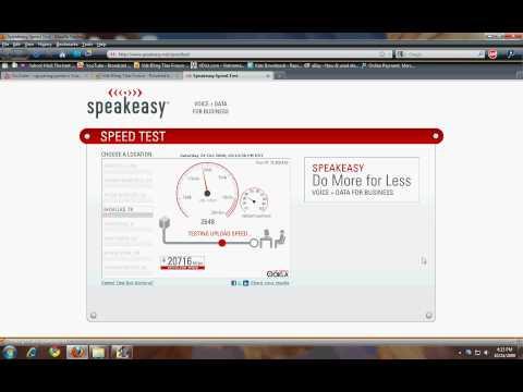 Cox Internet Preferred Package speed test (HD)