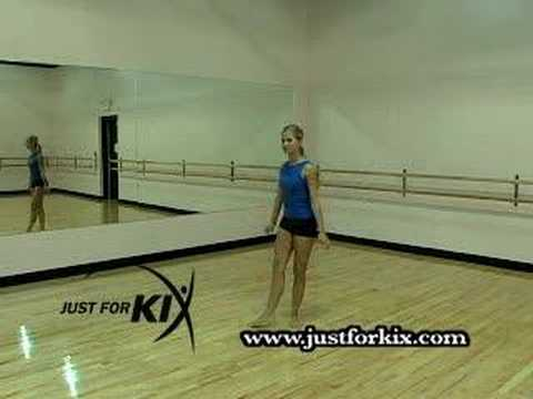 Firebird Leap Tutorial and Demonstration from Just For Kix- Dance Moves For Beginners