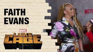 Musician Faith Evans On Returning for Marvel's Luke Cage Season 2