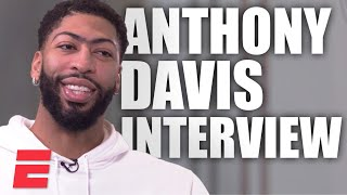 Anthony Davis' exclusive interview: LeBron, Kobe, Lakers and NBA All-Star in Chicago   NBA on ESPN