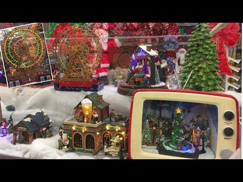 Miniature Christmas Villages & Figurines