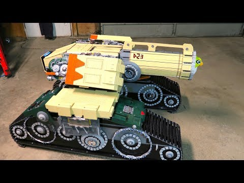 LEGO Bastion Tank - Overwatch
