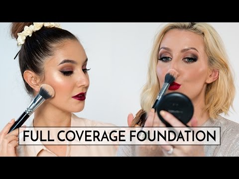 #SHARIMA'S Full Coverage Foundation Routine - OILY & DRY SKIN