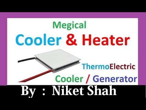 Thermoelectric peltier element cooler / generator / heater
