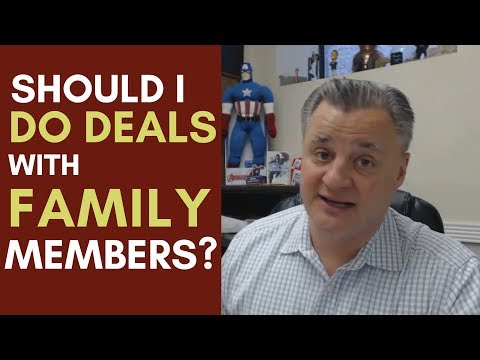 Should I Do Deals with Family Members | Mentorship Monday 093