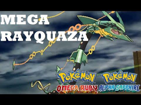 Pokemon Omega Ruby and Alpha Sapphire TO CATCH MEGA RAYQUAZA AT SKY PILLAR!