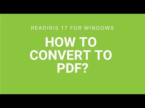 Readiris 17 - PDF
