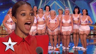 These STRONG women deliver a FABULOUS dance act! I Auditions I BGT Series 9