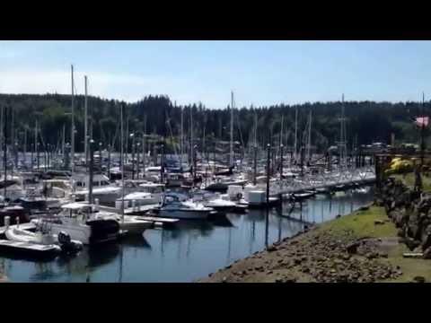 Seattle:  International District, Washington State Ferry to Bainbridge Island.