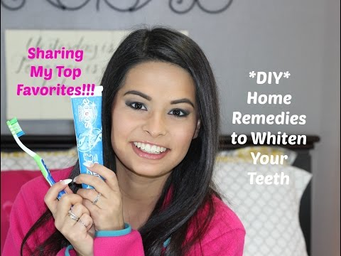 DIY Home Remedies that Really Work to Whiten My Teeth|Only Takes 2 minutes | Madison Danielle