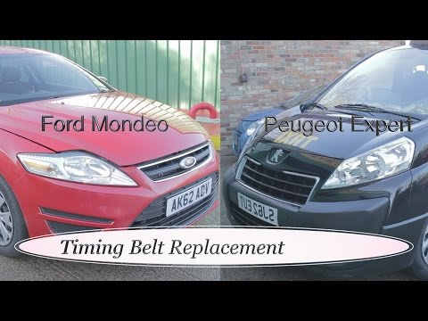 ford mondeo/peugeot expert 2litre hdi timing belt replacement