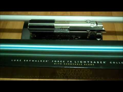 Luke Skywalker Episode IV Force FX REMOVABLE BLADE Lightsaber Review