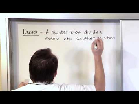 Lesson 3 - Finding Factors Of Numbers - (5th Grade Math)