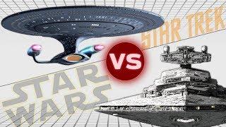 USS Enterprise-D vs Imperial II Star Destroyer | Star Trek vs Star Wars: Who Would Win