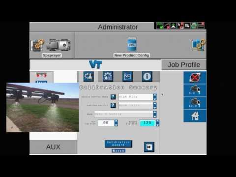 AIM Command FLEX: Nozzle Control Modes on the Viper 4 display