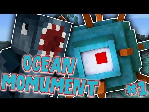 OCEAN MONUMENT CHALLENGE! [1] - Minecraft Xbox W/Stamps!