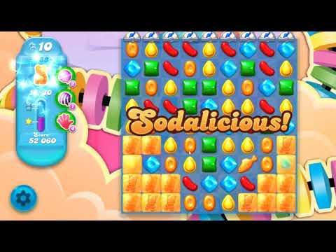 Candy Crush Soda Saga Level 763 Hard Level BOOSTER FROM DAILY BONUS