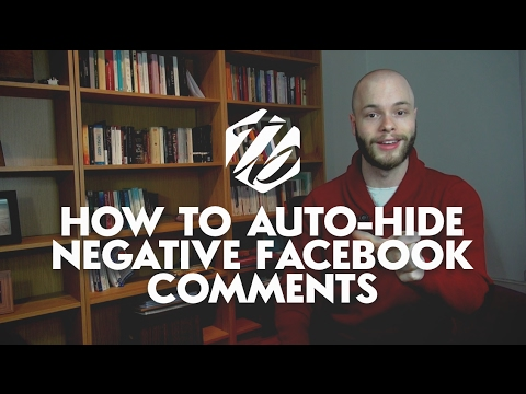 Facebook Advertising Hack — How To Auto-Hide Negative Comments On Your Ads | #303