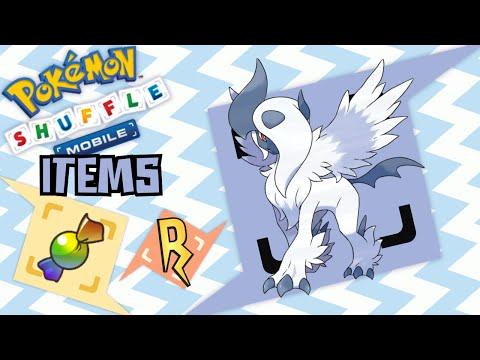 Pokémon Shuffle Mobile - ¡MEGA ABSOL! MEGATURBO!! (Items)