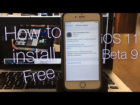 How to install iOS 11 beta 9, iOS 11 beta 9 have been release