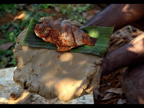 Baked Fish Packed in Clay | Ancient Cooking