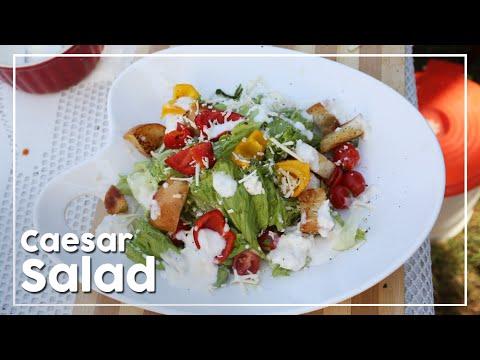 Caesar Salad | Quick And Healthy Salad Recipe