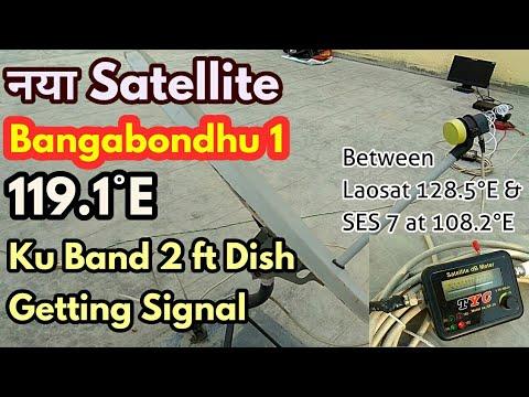 Breaking News.Bangabondhu Satellite-1 sending Signal for Ku Band. 2ft Dish Setting information.
