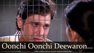 Oonchi Oonchi Deewaron Mein - Govinda - Manisha Koirala - Achanak - Hariharan Songs