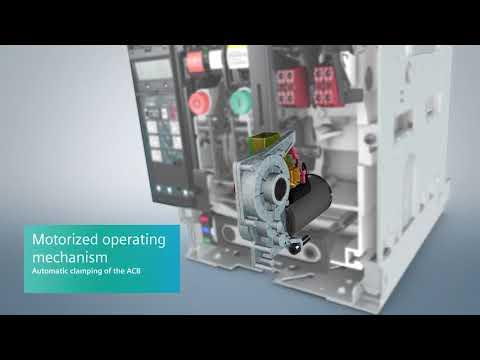 Siemens 3WL air circuit breakers (ACBs)