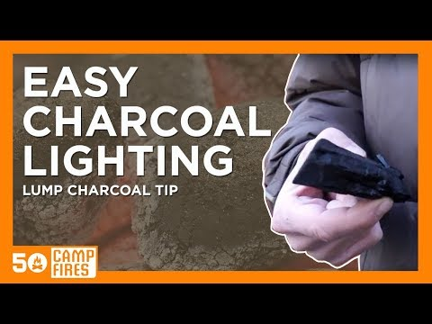 Quick and Easy Way To Light Lump Charcoal