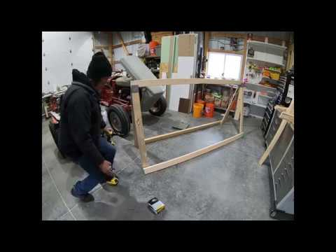 Building a Sawhorse Greenhouse Part 1