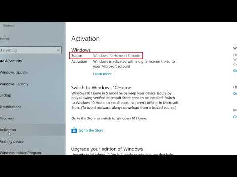 Windows 10   How to Switch Out of S Mode