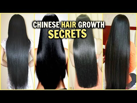 CHINESE HAIR GROWTH SECRETS! │HOW TO GROW LONG THICK SHINY GLOSSY HAIR FAST│RICE WATER, DIY'S & MORE