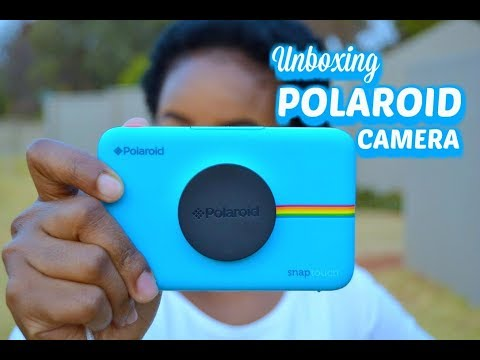 Polaroid Snap Touch Instant Camera unboxing || Mommy and baby approved || South African Youtuber