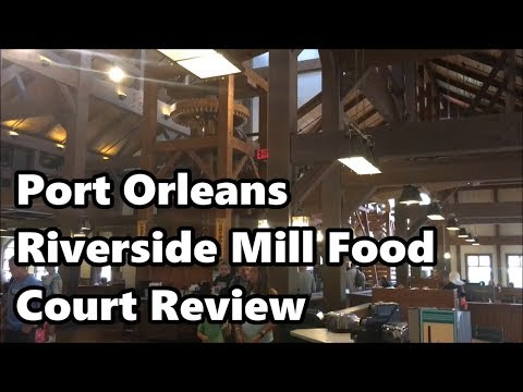 Riverside Mill Food Court Review | Port Orleans Riverside Resort | Walt Disney World