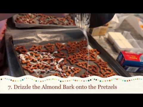 Almond Bark Pretzels