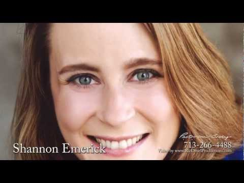 Shannon Emerick is represented by Pastorini-Bosby Talent-a Texas top talent agency