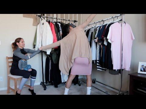 CLOTHES SWAP CHALLENGE!!! (IN PUBLIC)