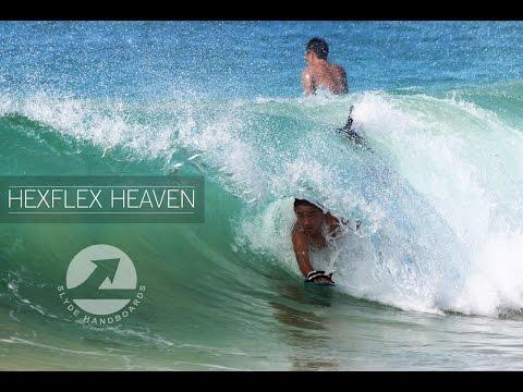 Slyde Handboards: The Slyde Hexflex & Extreme Bodysurfing
