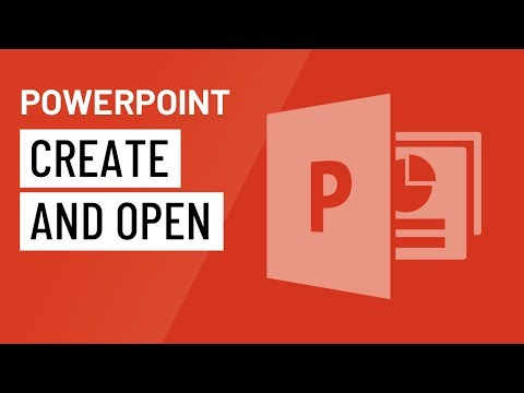 PowerPoint 2016: Creating and Opening Presentations