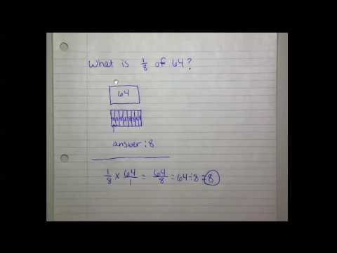 Product of a Unit Fraction and a Whole Number