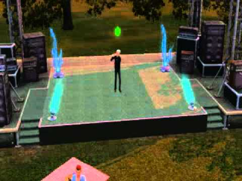 The Sims 3 Showtime - Singing Sped Up