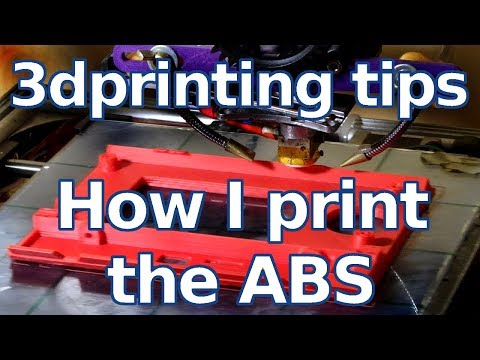 3d printing tips - How I Print the ABS without problem - Sub EN