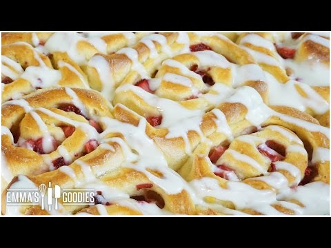 Strawberry Sweet Rolls Recipe