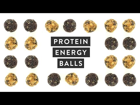 How to Make Protein Power Energy Balls   NO BAKE Healthy Snack Recipe   Miss Louie
