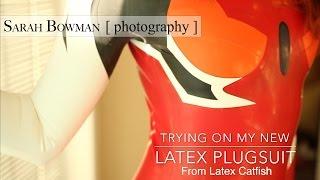 Latex plugsuit for my Asuka Shikinami Langley Cosplay ! ^_^