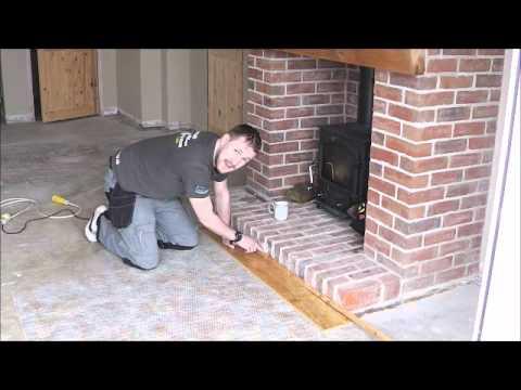 LaminateMaster.co.uk - laminate/wood flooring, undercut stone/brick fireplace/wall