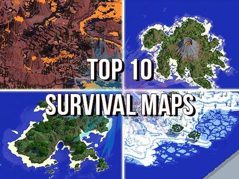 Jeracraft's Top 10 Survival Maps & Islands!