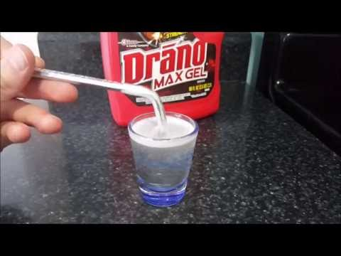 Drain Cleaner Test I | Watch Draino Dissolve Hair and Turn it into Slime!